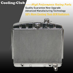 Fit 56-57 Chevy Bel Air Del Ray V8 Core Support 3 Rows Aluminum Kks5557 Radiator