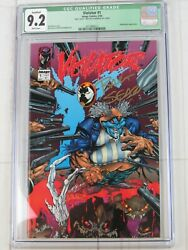 Violator 1 Cgc 9.2 Qualified Image May 1994 White Pages Comic Book 2014986012