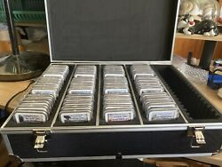 2010 -20 S Silver 25c Complete Set 65 Coins Ngc70
