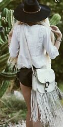 Spell Designs Vintage Rare White Muse Tasselled Bag $2,152.05