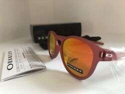 Oakley Prizm Spectrum Collection Latch Ruby Red Sunglasses New in Box $59.70