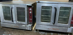 Southbend Silverstar Commercial Electric Double Deck Convection Oven W/ 6in Legs