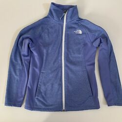 The North Face Zip Up Fleece Jacket Purple Girls Size Large L 14-16 $20.00