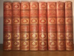 Leather Set American Encyclopedia Of History 1911 Complete Antiquarian Library