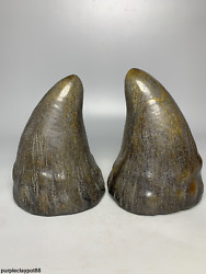 China  Delicate Ox Horn Manual Carving With Words  Number Ox Horn Tip