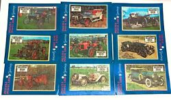 Vintage Collectors Series Automobile Puzzle Postcards Lot Of 9 - New Sealed