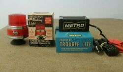 Vehicle Trouble Light Emergency Lights In Boxes Metro And Dandee Red Light