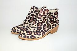 Ankle Booties  Large Cheetah Design Women's  Size: 6.5 $20.00