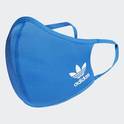 Blue Adidas Face Mask Cover Size L **Free Shipping**  $14.95