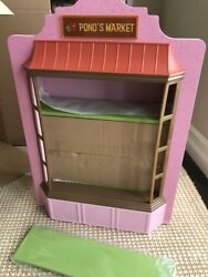 American Girl Nanea's Ponos Market Stand Store Display Shop Only New 18 Doll