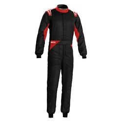 Sparco 00109256nrrs Sprint Certified Black/red 56 Racing Suit