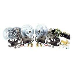 For Dodge Challenger 70-72 Brake Conversion Kit Legend Series Drilled And Slotted
