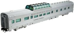NIB Atlas 3 Rail 3007007-1 CB&Q California Zephyr Silver Shop Dorm Buffet Dome
