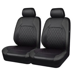 CARPASS Car Seat Cover Black Color Breathable Leather for Car fit vehicleAirbag $29.99