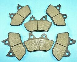 Fit Harley Front And Rear Brake Pads Flhx Flhxi Street Glide 06-07