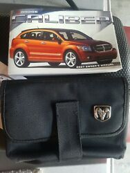 2007 Dodge Caliber Owners Manual Book And Nylon Case