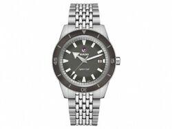 New Rado Captain Cook Automatic Stainless Steel Grey Dial Men's Watch R32505018