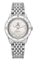 New Rado Captain Cook Auto Stainless Steel White Dial Women's Watch R32500013