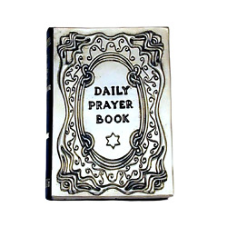 Daily Prayer Book Judaica Siddur Jewish Book Protection Made Sterling Silver 925