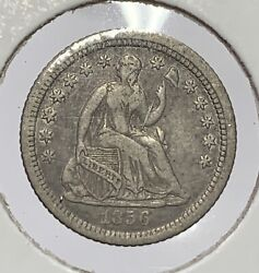 1856 O Seated Liberty Half Dime Xf+ Luster In Protected Areas Mr. C