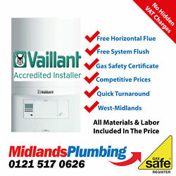 Vaillant Ecotec Plus 637 System Boiler Supplied And Fitted