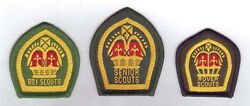 1940-60's United Kingdom Boy Scouts, Senior And Rover King And Queen's Scout Badge