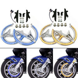 Motorcycle Chrome Accessories Rotor Led Covers For Honda Goldwing Gl1800 18-20