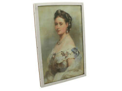 Antique Sterling Silver Picture Frame Width 18.9cm 1917