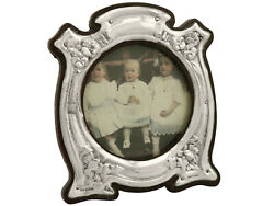 Edwardian Sterling Silver Photo Frame By J Aitkin And Son 15cm Height