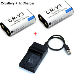 Battery / Charger For Olympus D-575 Zoom D-580 Zoom D-595 Zoom Fe-110 Fe-120
