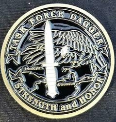 Task Force Dagger Tf-dagger Oef 5th Sfg A Deployment Challenge Coin