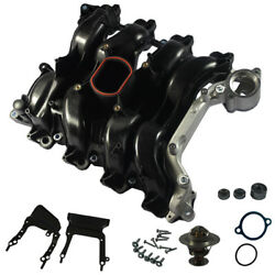 New Intake Manifold With Gasket Thermostat O-rings For Ford Lincoln Mercury 4.6l