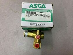 New In Box Asco Red Hat 1/4 Valve P321a001