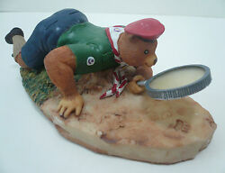 1999 Scouts Of China Taiwan - Rover Scout Bear Figure Figurine / Model 6 Cm