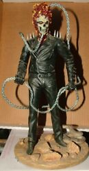 Gentle Giant Marvel Limited Ghost Rider In Desert Statue 367/1500