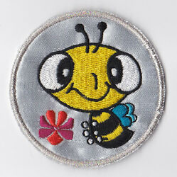 Girl Guides Scouts Of Hong Kong - Hk Gg Happy Bee Silver Award Patch