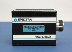 Mks Spectra Products Vac-check Model Lm78 Lm505 Residual Gas Analyzer Used 7325r