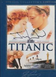 Titanic Special Collectorand039s Edition 3-disc Set Dvd Video Signed By Jon Landau