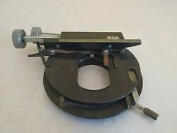 Vintage W. Watson And Sons London 28927 - Microscope Part Stage / Table .as Is .