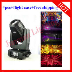 350w 17r Beam Spot Wash 3 In 1 Moving Head Party Light Case 4pcs Free Shipping