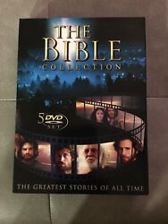 Newthe Bible Collection The Greatest Stories Of All Time Brand 5 Dvd Set