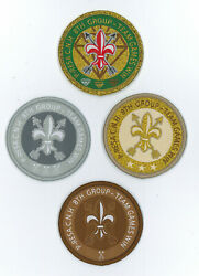 China Pathfinder And Rover Explorer Scouts Association - Team Games Scout Award