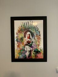 Heart And Will Daenerys By Jacob Bannon Game Of Thrones Art Print 98/100