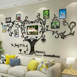 DecorSmart Love Family Tree Picture Frame Collage Removable 3D DIY Acrylic...