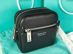 And Co. Black Grain Leather Camera Case New Retired Ret. Was 975
