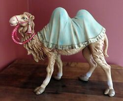 1985 Vintage Fontanini 12 Inch Series Standing Camel