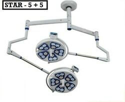 Examination 5 Star+ Star 5 Ot Lights Surgical Operation Theater Light Spring Arm