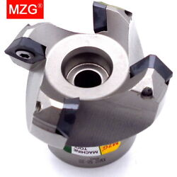 Mzg Km Clamped Fast Feeding Alloy End Mill Sekt1204 Inserts Face Milling Cutters