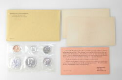 1964 Us Treasury Department United States Mint 5 Coin Silver Proof Set C9