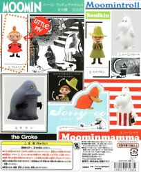 New Moomin Valley Hippo Character 1 Full Set Of 6 Figures